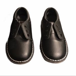 L'Amour toddler boys leather shoes 10